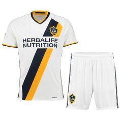 Los Angeles Galaxy Home 16-17 Soccer Kit Shirt and Shorts [G46]