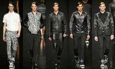 Moda Men, Leather Pants, Fashion Moda, Suits, Html, Mens Fashion Week, Spring Summer 2015, Manish, Style