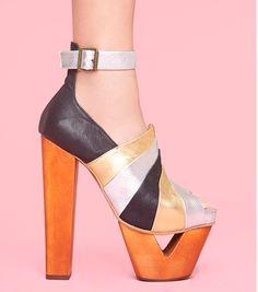 Pauline platforms. #shoes #heel #platform
