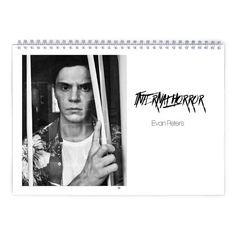 Evan Peters  Internal Horror Calendar by MovieShop on Etsy