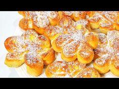 Coptură moale și pufoasă! Cea mai simplă rețetă, o prepar mereu, rapid și delicios! Olesea Slavinski - YouTube Queijo Cottage, Ricotta, Pastry And Bakery, Pretzel Bites, French Toast, Bread, Breakfast, Food, Quick Cake