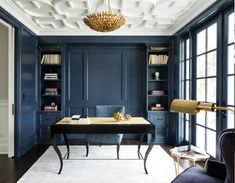 In today's design industry, there is a refreshing twist on a timeless classic color, navy blue. From deep and dramatic, to a lighter br...