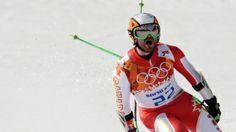 Veteran alpine skier Jan Hudec wins a bronze medal in the super-G, Canada's first podium result in men's Olympic alpine skiing in 20 years.Canada's Jan Hudec celebrates after his run in the men's super-G at the Sochi 2014 Winter Olympics in Krasnaya Polyana, Russia, Sunday, Feb. 16, 2014. (AP / Gero Breloer)