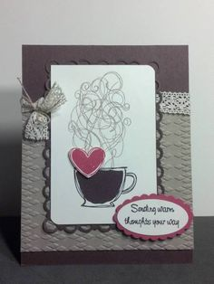 Chocolate Cake Warm Thoughts by zipperc98 - Cards and Paper Crafts at Splitcoaststampers