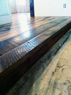 Barn Wood. Done by Todd's Hardwood Flooring.