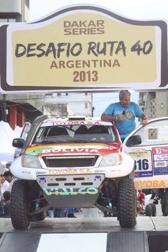 El Boliviano Marco Bulacia esta listo para destacar en el Desafio 40