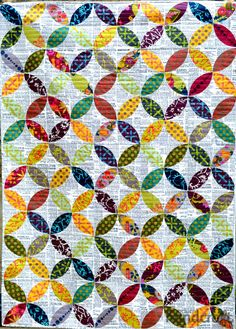 Field Day orange peel quilt | Modern Handcraft