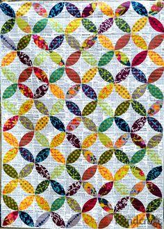 Field Day orange peel quilt | Modern Handcraft
