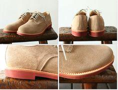 Walk Over Suede Shoes Buck Dirty via Takanna Japan
