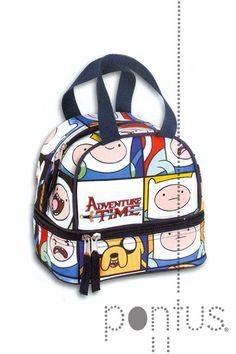 Lancheira Adventure Time 19,5x18,5x14cm ref.50710 | JB