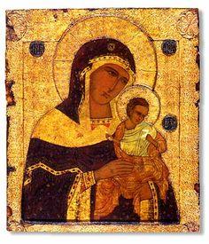 Konevsky Virgin (Golubitskaya).  THG