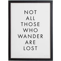 Blacklist Wander - Black Framed Print (145 AUD) ❤ liked on Polyvore
