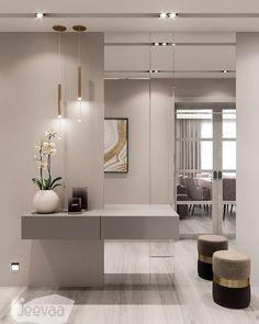 Home Room Design, Interior Design Living Room, Living Room Designs, House Design, Apartment Interior, Apartment Design, Home Decor Bedroom, Living Room Decor, Entrance Hall Decor