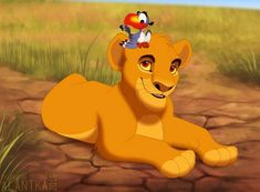 I've always loved the idea of Zazu and Mufasa from The Lion King being friends since a very young age. Lion King 1, Lion King Fan Art, Disney Lion King, King Art, Arte Disney, Disney Fan Art, Disney Artwork, Lion King Pictures, Kings Movie