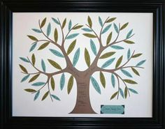 $15 Family tree kit!! so cute! this family tree craft kit makes a really great gift for mothers day or Christmas!