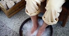 How to Get Rid of Foot Odor? Home Remedies for Foot Odor Removal. Treat Foot Odor at home. Self Massage, Good Massage, Nail Fungus, Listerine Foot Soak, Massage Place, Foot Odor, Getting A Massage, Deep Tissue, Cleaning