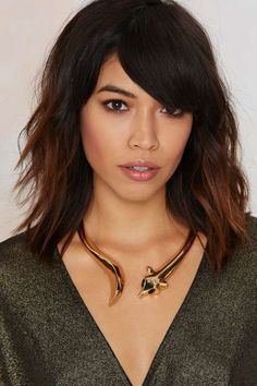 Such a Fox Collar Necklace