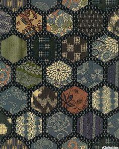 Beautiful cherry blossom fabrics and lantern quilt blocks. From ... : japanese lantern quilt pattern - Adamdwight.com