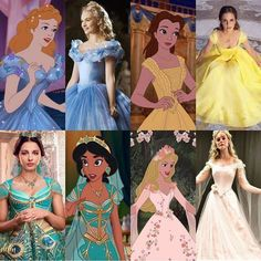 Whos your favourite Princess? Comment down below! Art by: Disney Princess Movies, All Disney Princesses, Disney Princess Fashion, Disney Princess Pictures, Disney Girls, Disney Live, Disney Movies, Disney Fun, Disney Pixar