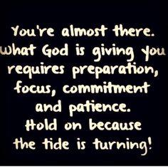 Turning tide! ✨