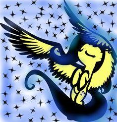 Evil Fluttershy   ... evil fan art digital art other 2012 2014 ponita gold evil fluttershy