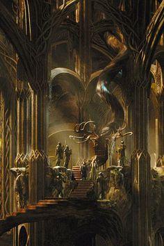 10+ Elven architecture ideas elven fantasy landscape elven city