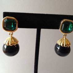 Vintage Jewelry  Vintage  Vintage Drop Earrings  by BijouxLaVie, $9.00