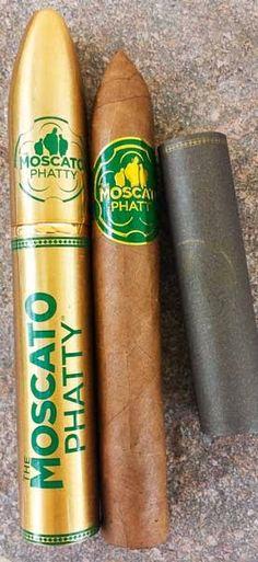 CigarDan's Cheap Ash Reviews: Moscato Cigars Phatty Natural Torpedo Tubo
