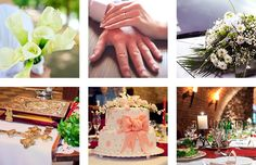 Picture of Collage with bridegroom and bride in different situations stock photo, images and stock photography. Different, Bride Groom, Collage, Stock Photos, Table Decorations, Creative, Projects, Pictures, Photography