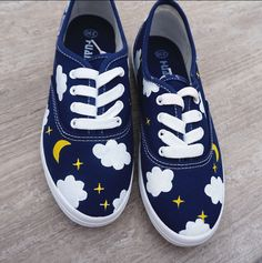 Harajuku hand-painted canvas shoes for $28.88