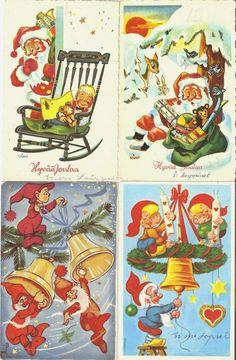 Tässä muutamia esimerkkejä keräämistäni joulukorteista.                Tämän…