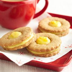Orange-Ginger Cookie Sandwiches -@Midwest Living 36 Classic Christmas Cookies
