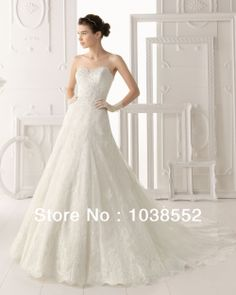 Aire Barcelona White A-Line Lace Wedding Dresses With High Neck Jacket Sweetheart Long Chapel Vintage Bridal Gowns No Sleeve $146.66