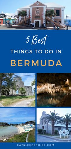 Are you dreaming of travel or a cruise vacation to Bermuda? If so, don't miss this post. Here we share the top 5 things to do while in port. From food and culture to adventure or relaxing on the beach, you'll find something for everyone! With this guide and tips, you will be sure to enjoy every minute of your time in this beautiful and unique destination. Check it out and you'll be ready to go as soon as cruising and travel resume! #Bermuda #ThingsToDo #CruiseVacation #Excursions #Cruising Cruise Excursions, Cruise Destinations, Cruise Port, Vacation Places, Cruise Vacation, Bermuda Vacations, Bermuda Travel, All Inclusive Beach Resorts, Cruise Ship Reviews
