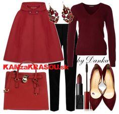 V červenom plášte - KAMzaKRÁSOU.sk  #red  #outfitoftheday