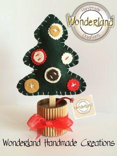 Christmas Tree - Felt - Christmas - Handmade