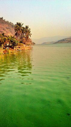 Lago Amatitlán. Guatemala
