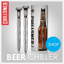 When it comes to keeping your beer cool to the last drop, these beer cooler sticks will do a great job to chill your beer. It's like having ice cubes in your beer without the horrible dilution. You may be wondering why on earth you'd need one of these if Cutlery Caddy, Man Cave Items, Cooler Box, Bottom Of The Bottle, Gifts For Beer Lovers, The Last Drop, Detox Your Body, Grooming Kit