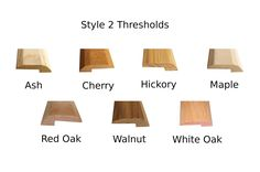 3 1//2 inches x 24 inches Solid Red Oak Interior Threshold Style A