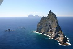 Ball's Pyramid is 20 kilometres (12 mi) southeast of Lord Howe Island in the Pacific Ocean. It is 562 metres (1,844 ft) high, while measurin...