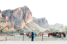 Gorgeous Saguaro Ranch engagement shoot with Arizona Wedding photographer Pinkerton Photography.