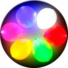 Witzig: LED-Ballons