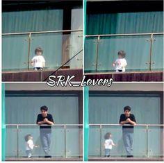 the 2 boys.at home on the balcony of Mannat Shahrukh Khan Family, Abram Khan, 2 Boys, Crazy Life, Bollywood Actors, Balcony, Babe, King, India