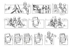 Image result for ux storyboard