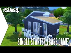 THE SIMS 4 SPEED BUILD #172 - SINGLE STARTER (BASE GAME)