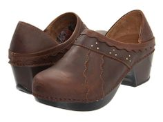 Dansko Hailey Mahogany Burnished Leather - Zappos.com Free Shipping BOTH Ways