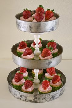 Tiered Stand made from cake pans