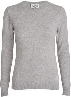 Wuth - Klassisk 100%cashmere sweater - YouHeShe