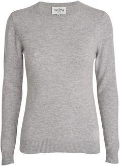 Wuth - Klassisk 100%cashmere sweater - YouHeShe