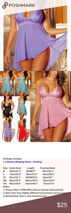 Plus Size Lingerie ❌I DONT DO TRADES ❌DO NOT ASK ME FOR MY LOWEST PRICE, MAKE ME AN OFFER!!! ❌I DO NOT MODEL CLOTHING OR ANYTHING BECAUSE EVERYONE LOOKS DIFFERENT IN CLOTHES Intimates & Sleepwear Chemises & Slips
